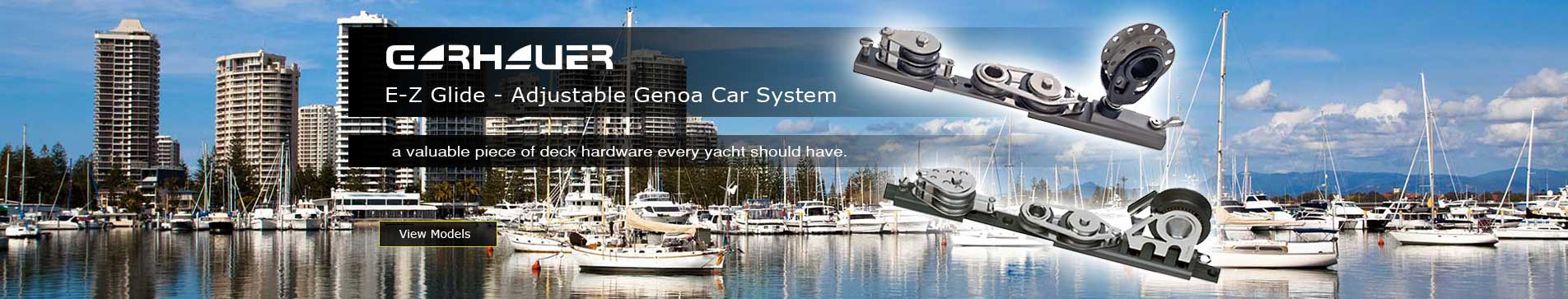 Garhauer - EZ-Glide Adjustable Genoa CarSyatem