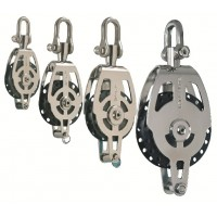 High Load - Single Block with Becket & Adjustable Swivel Shackle