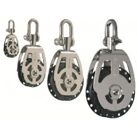 High Load - Single Block with Adjustable Swivel Shackle