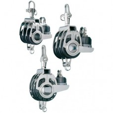 Triple Block with Cam Cleat, Becket and Adjustable Swivel Shackle